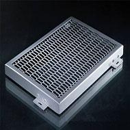 广东铝单板厂家 冲孔铝单板幕墙 菱形孔铝单板定制