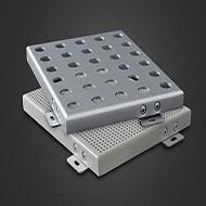 广东铝单板厂家 3.0mm氟碳穿孔铝单板价格实惠