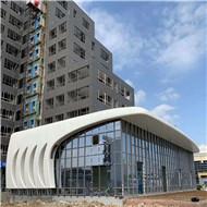 广东铝单板厂家 氟碳造型铝单板 双曲铝单板定制