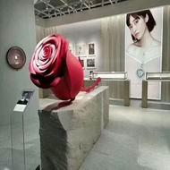 广东铝单板厂家 玫瑰花造型铝单板 双曲铝单板定制